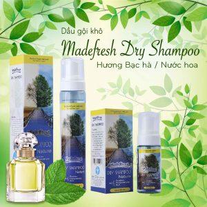 Dầu gội đầu khô Dry Shampoo hương Fragrance