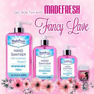 Gel rửa tay khô hương Fancy Love thương hiệu Madefresh