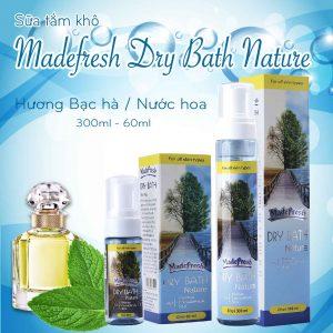 Sữa tắm khô Dry Bath hương Fragrance