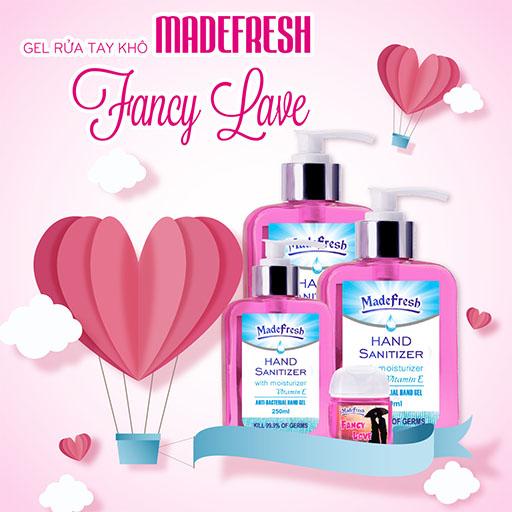 Sản phẩm Gel rửa tay khô madefresh hương Fancy Love