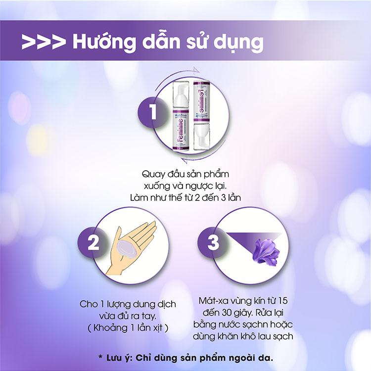 Hướng dẫn sử dụng nước rửa phụ khoa madefresh feminine