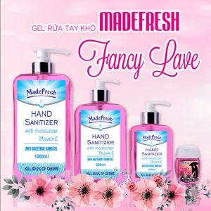 Gel Rửa Tay Khô Madefresh hương Fancy Love nồng nàn