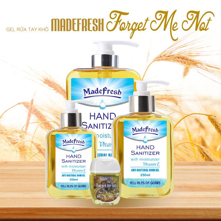 Gel rửa tay khô Madefresh hương Forget Me Not