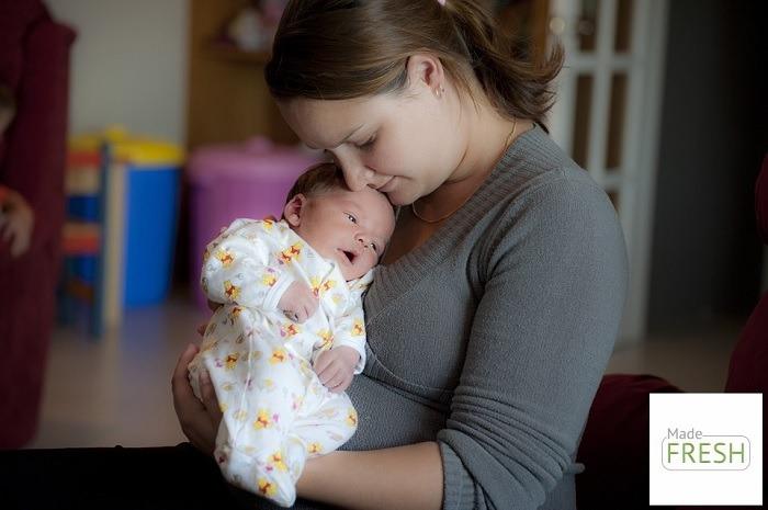 Dầu gội khô cho phụ nữ sau sinh