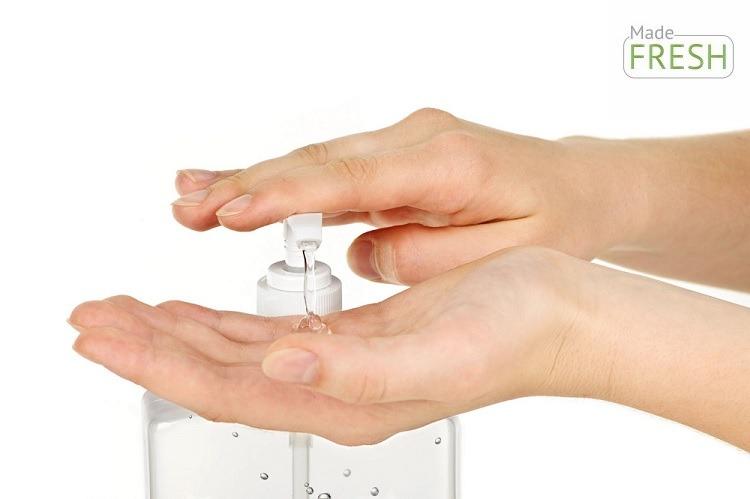 Nước rửa tay khô không mùi