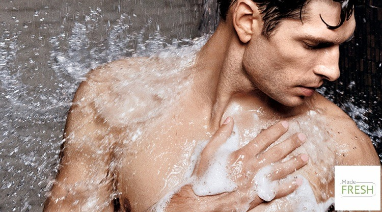 Sữa tắm diệt khuẩn cho nam đi phượt