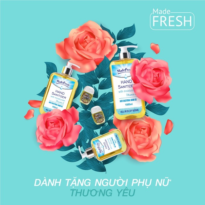 Gel rửa tay khô Madefresh forget me not 8-3