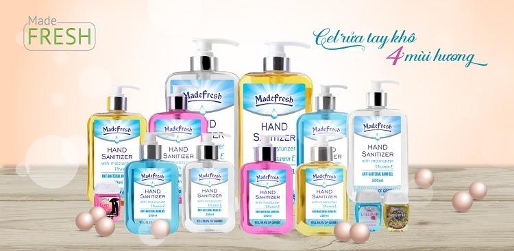 Tất cả các sản phẩm gel rửa tay khô 8.3