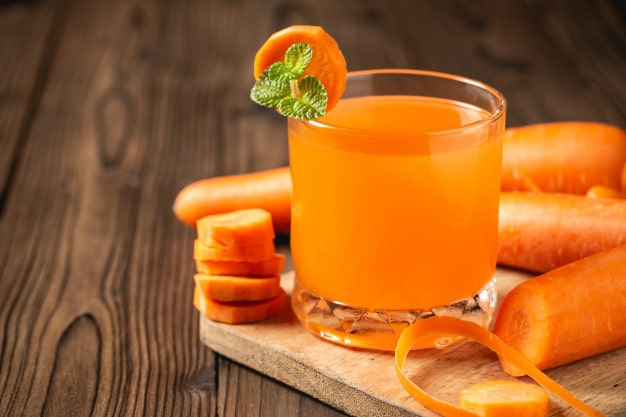 Cà rốt giúp giảm cân
