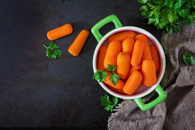 Cà rốt giúp trị mụn