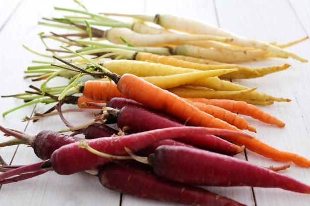Cà rốt tốt cho người bệnh tiểu đường