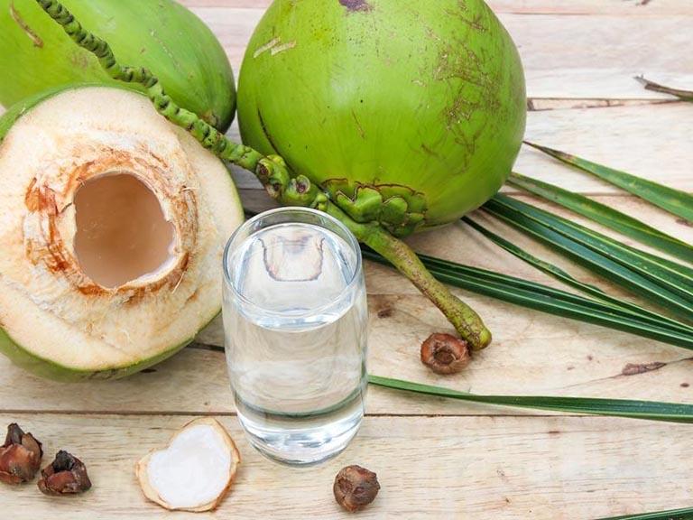 Nước dừa giúp tăng sức đề kháng