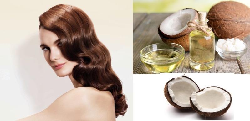 Dầu dừa tốt cho tóc