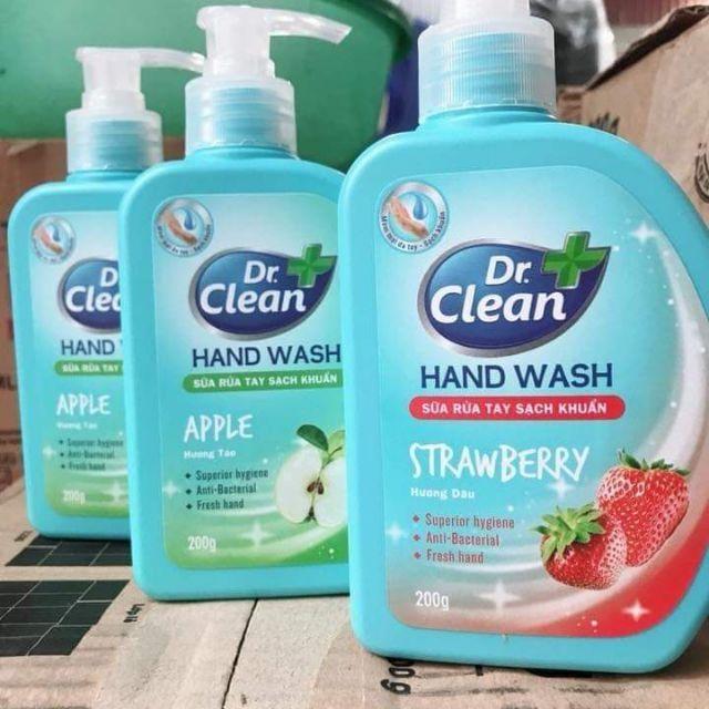 Nước rửa tay khô Dr.Clean 1