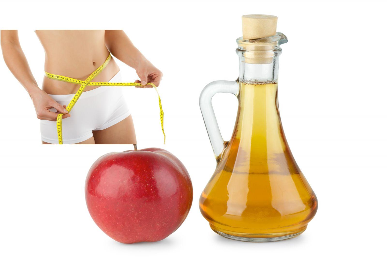 giấm táo giảm cân