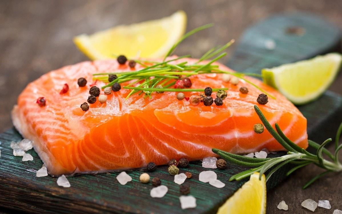 Cá hồi ngăn ngừa lão hóa