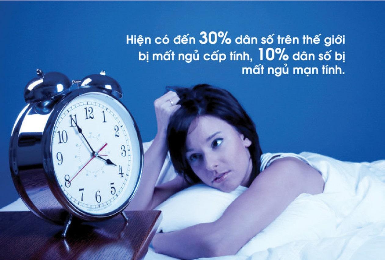Tác hại của việc mất ngủ