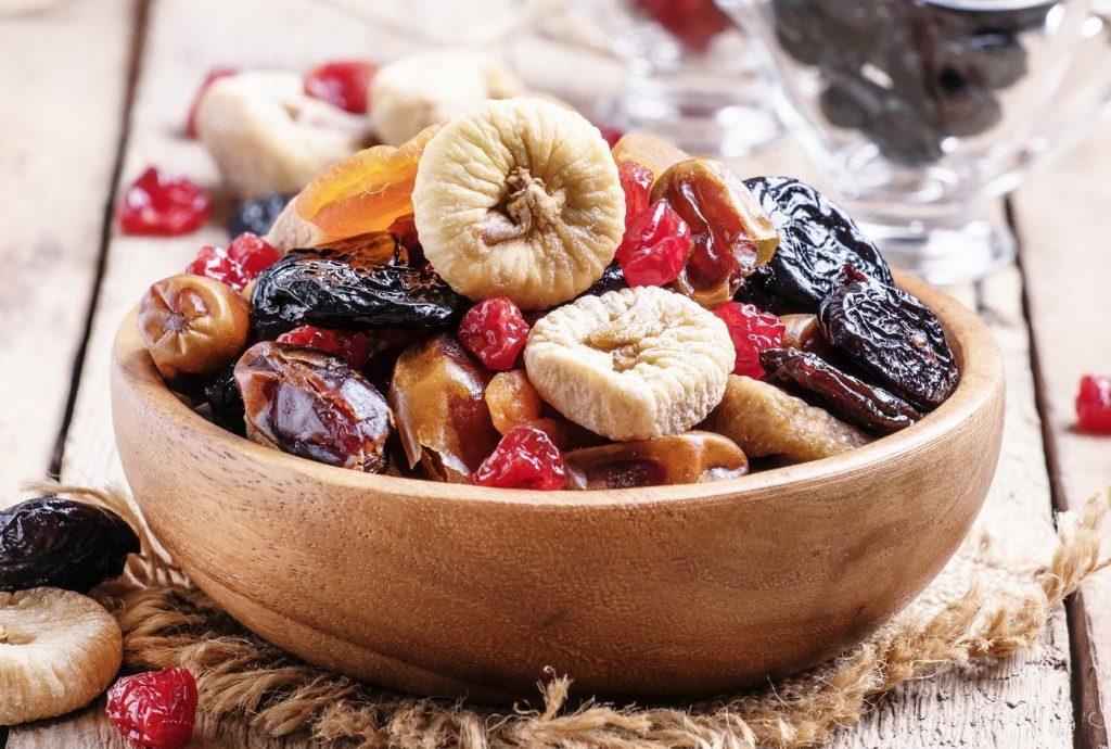 Trái cây khô có ích cho sức khỏe