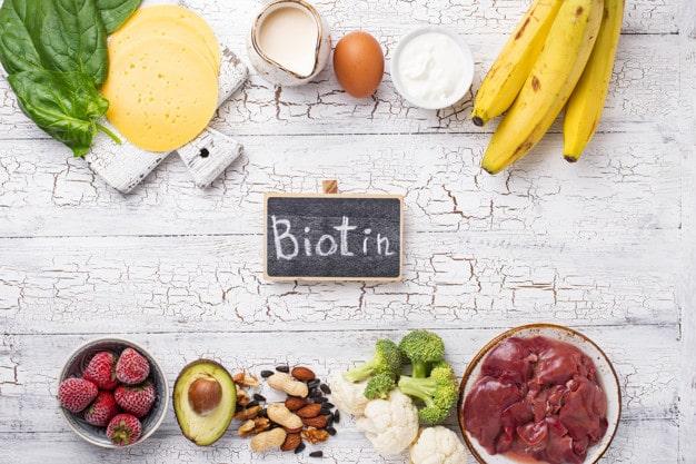 biotin trị rụng tóc