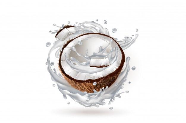 mặt nạ sữa dừa cho tóc