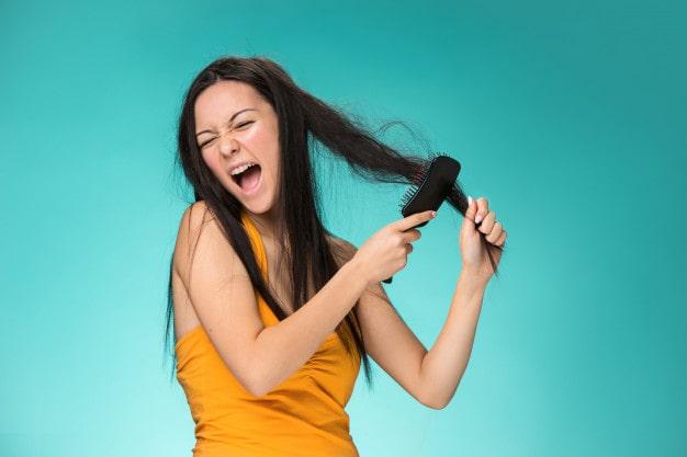 nguyên nhân tóc khô
