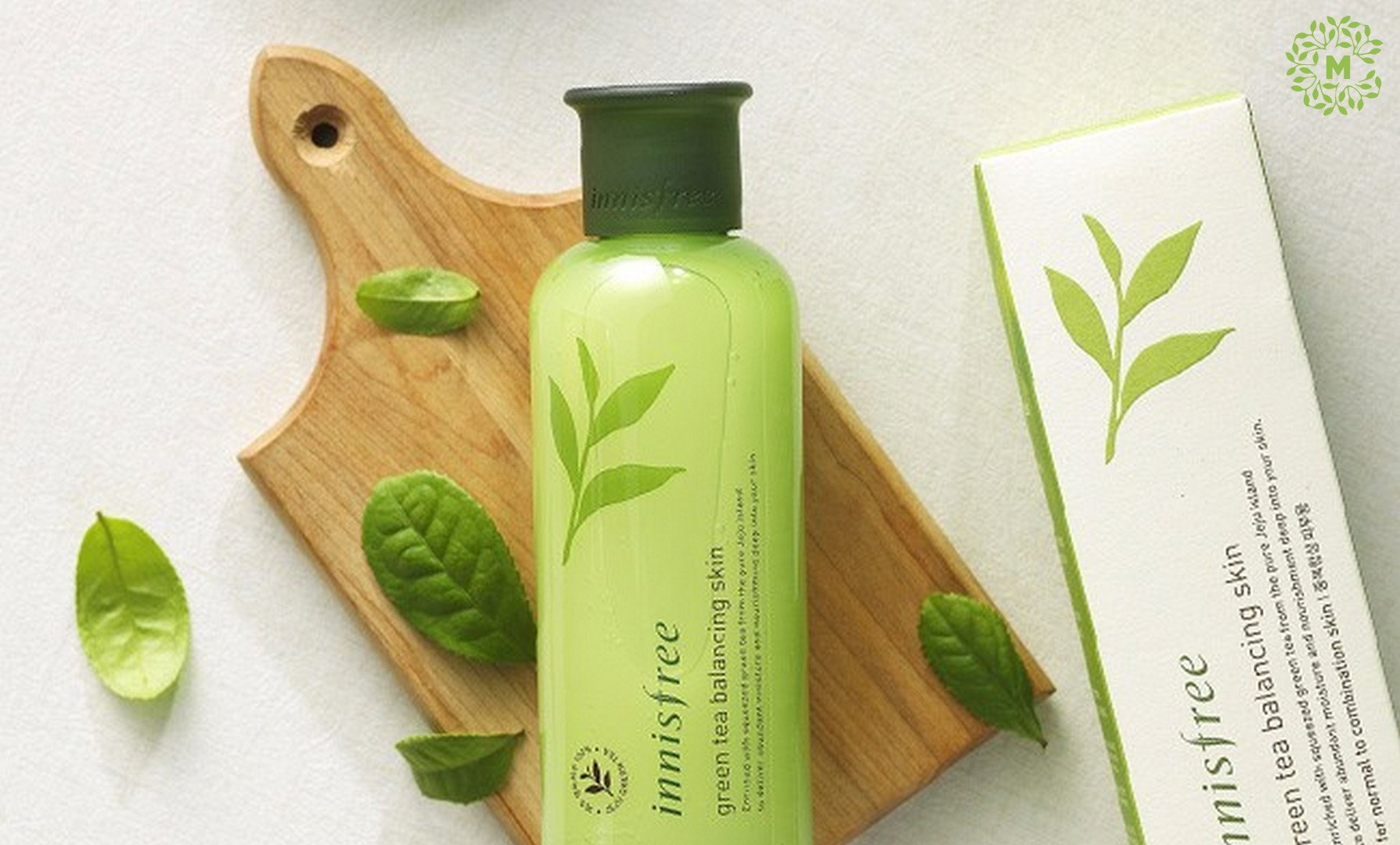 Toner innisfree green tea
