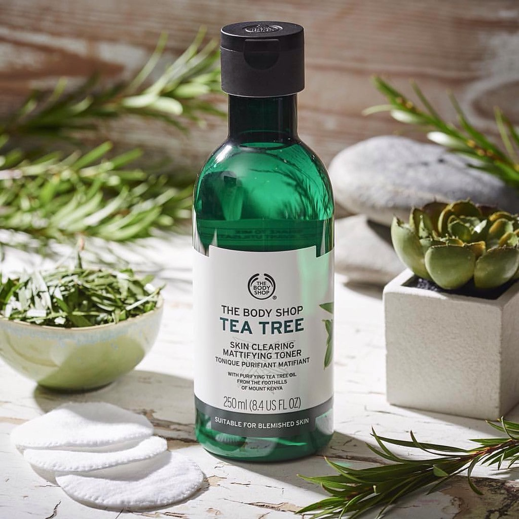 Toner the body shop tea tree