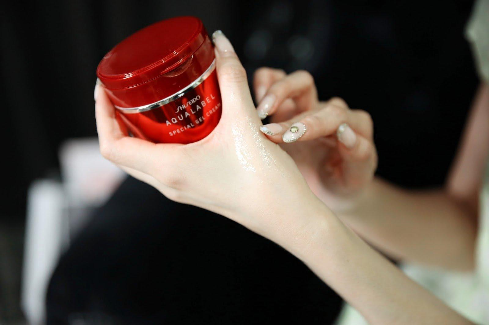 kem dưỡng ẩm Shiseido Aqualabel