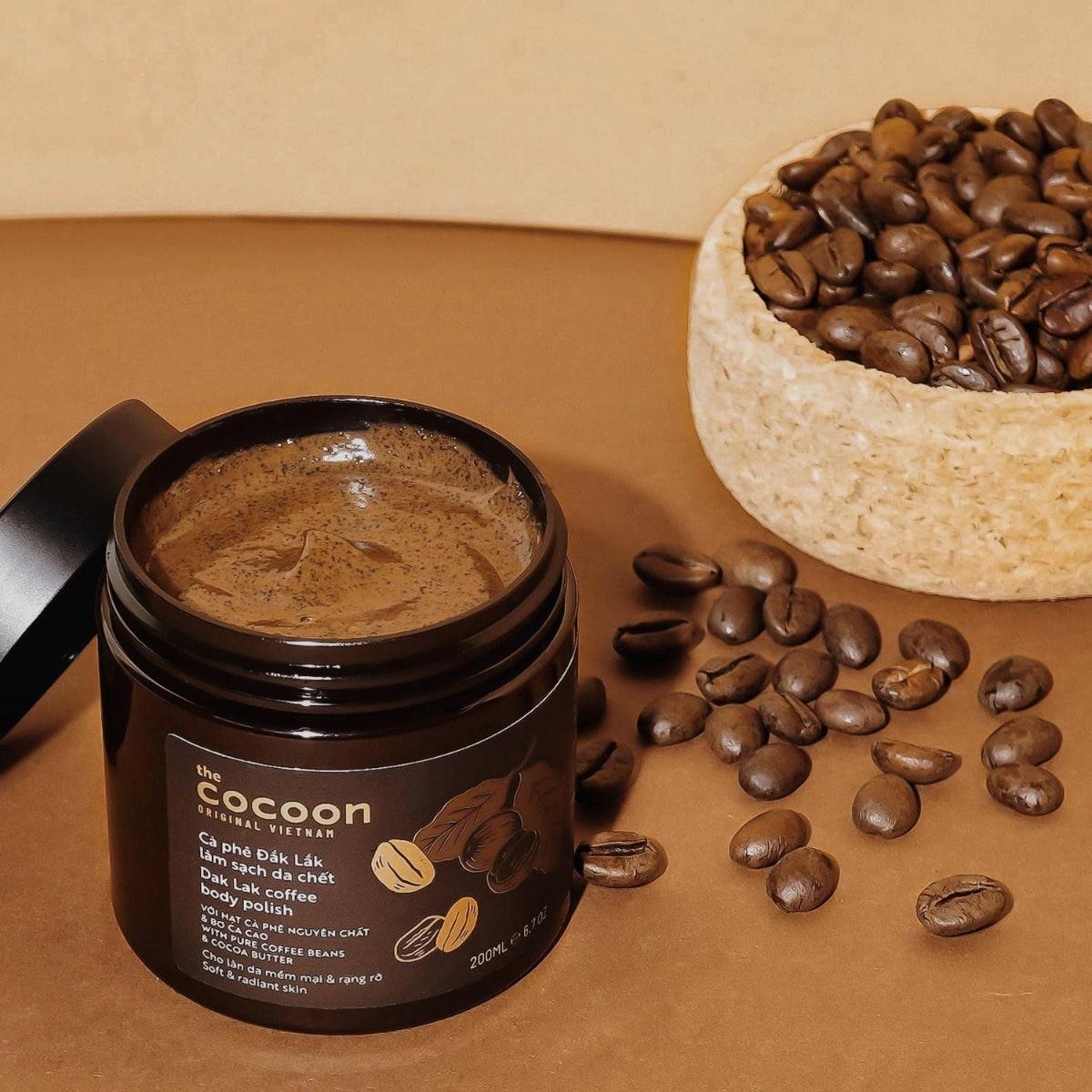 Tẩy tế bào chết cà phê Cocoon