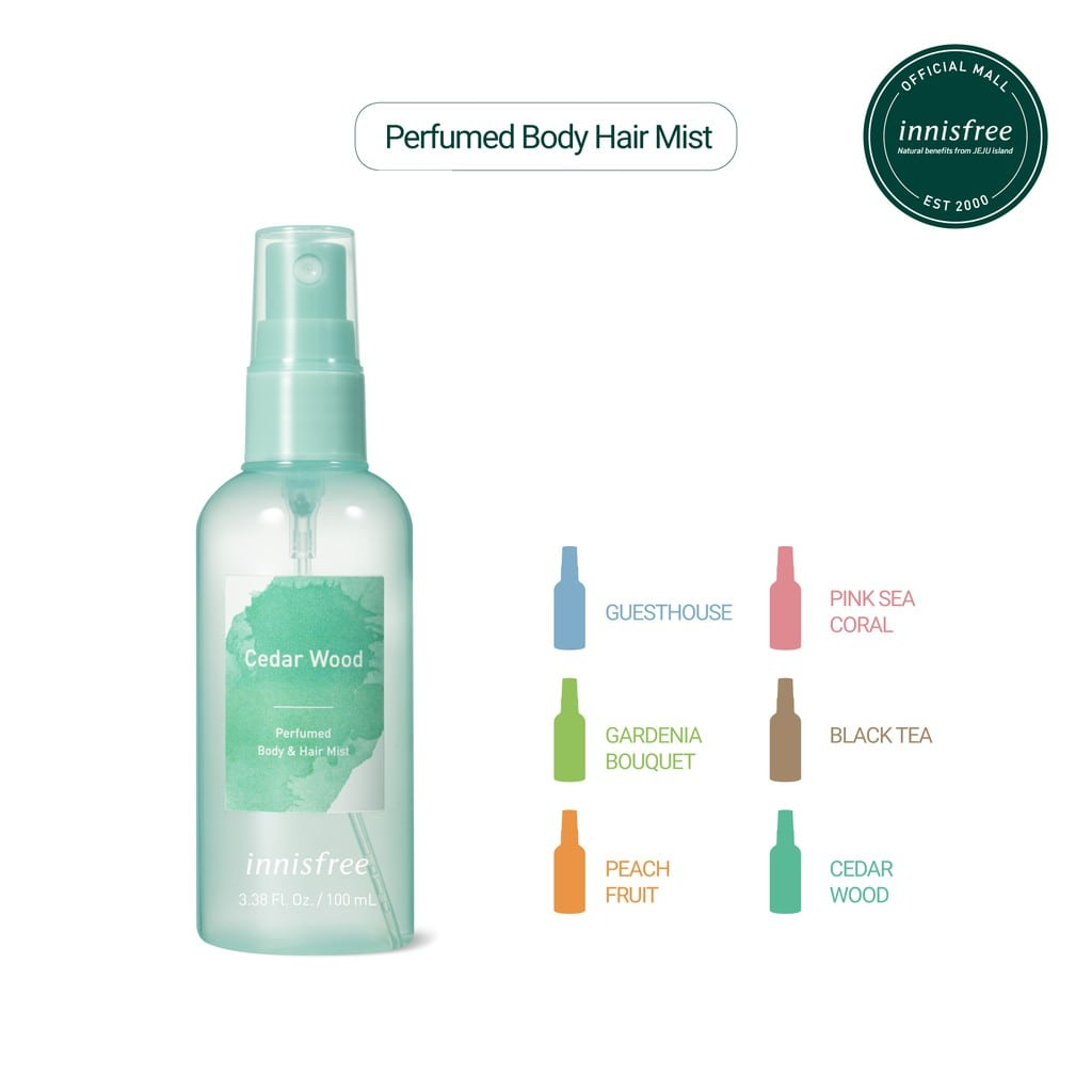 Body mist Innisfree Perfumed
