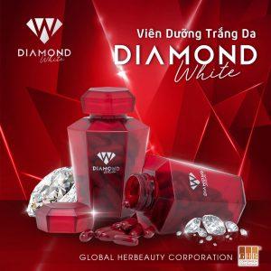 Công dụng viên dưỡng trắng da Diamond White
