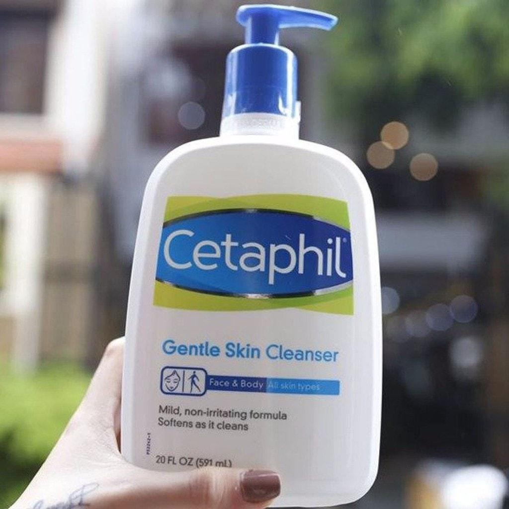 Sữa rửa mặt cetaphil gentle skin