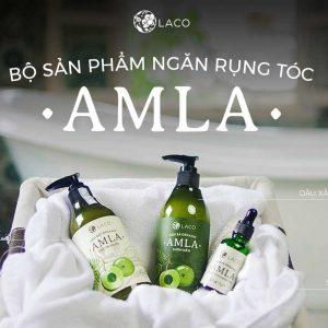 Bộ chăm sóc tóc Amla Laco