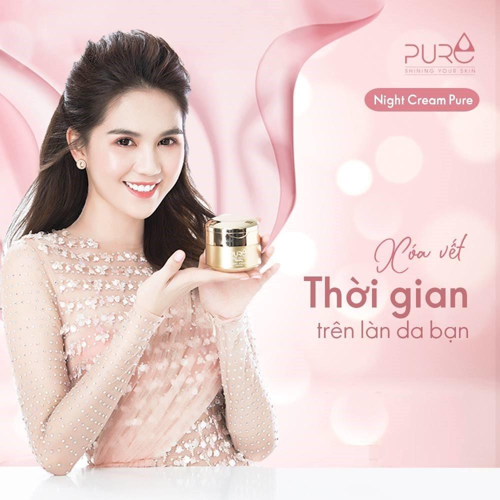 Công dụng kem Pure Mộc Qua Night Cream
