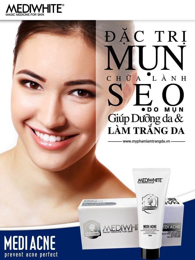Công dụng medi white acne