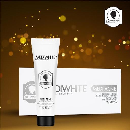 Medi White acne