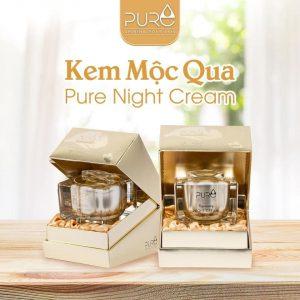 Thành phần kem dưỡng da Pure Mộc Qua