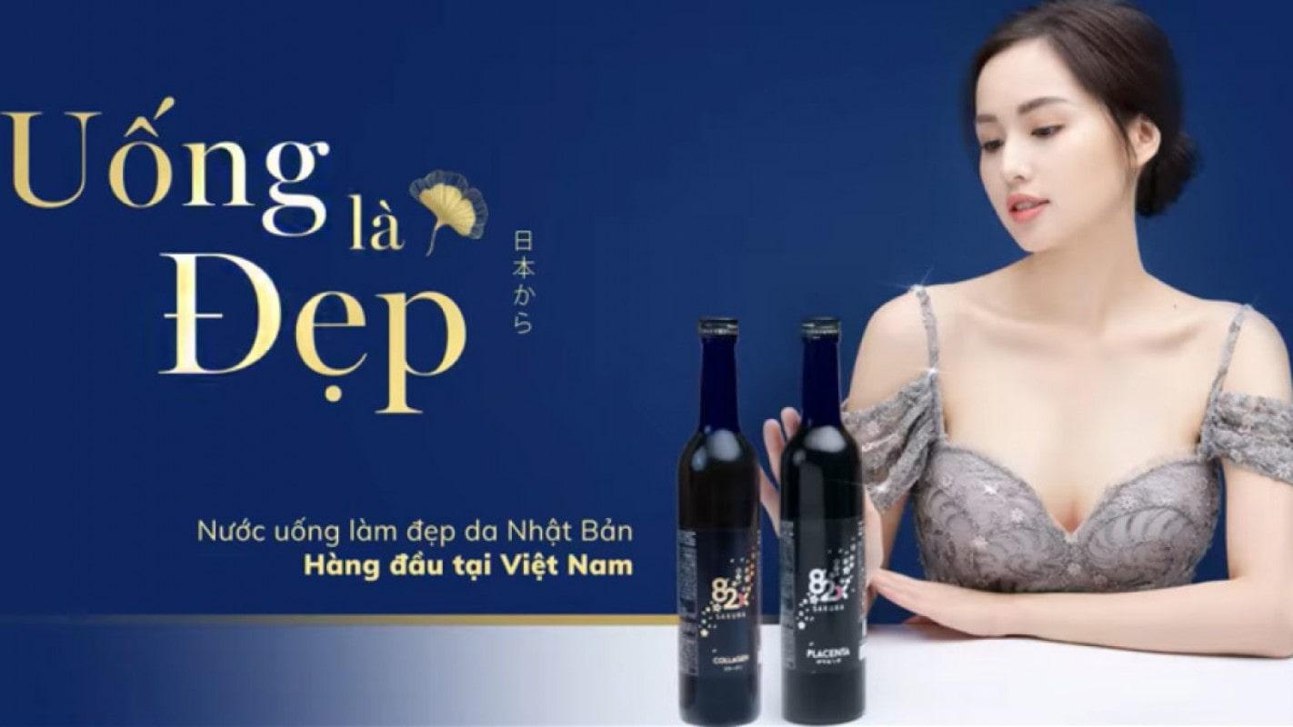 Thông tin sản phẩm nước uống collagen 82X Sakura classic