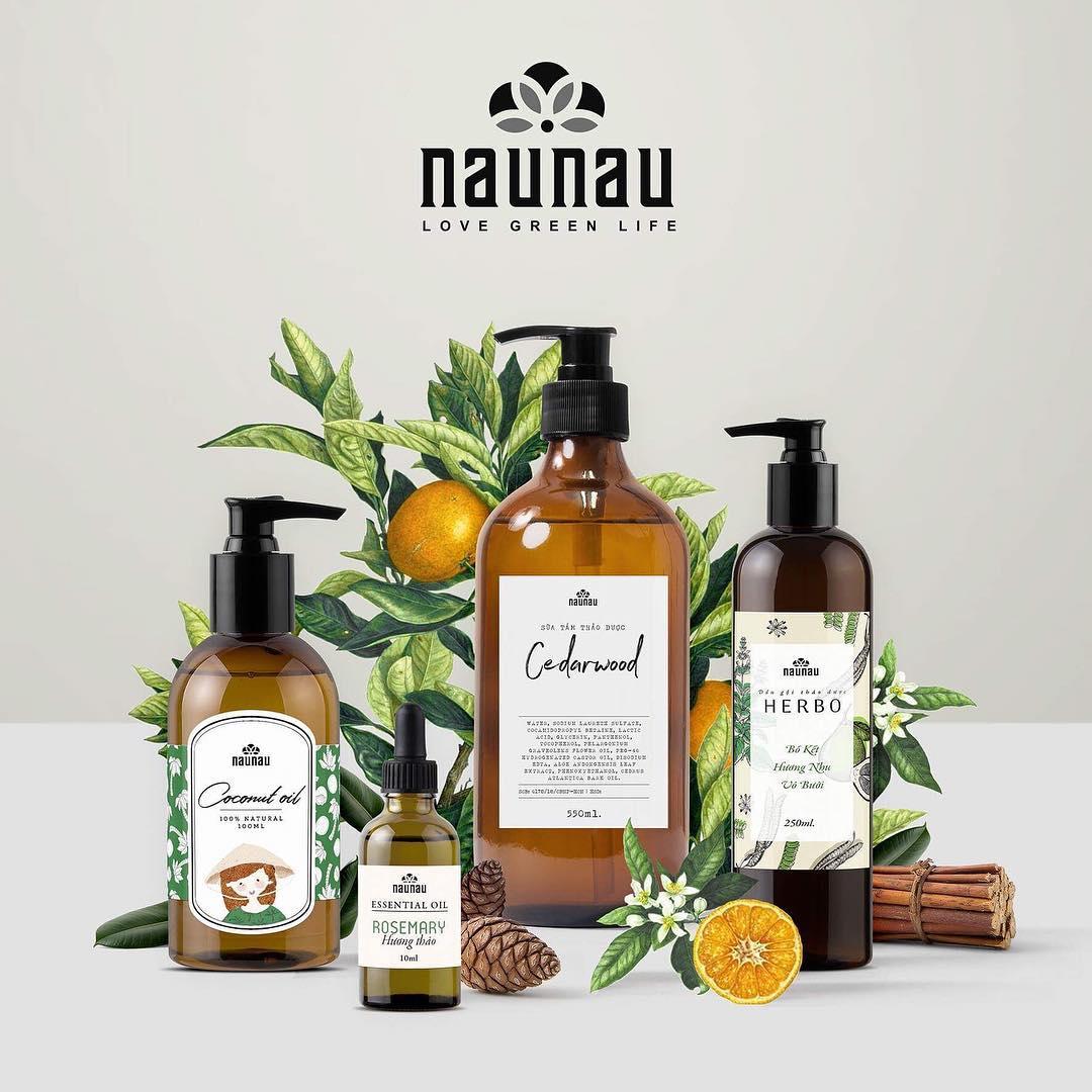 Thương hiệu mỹ phẩm Naunau