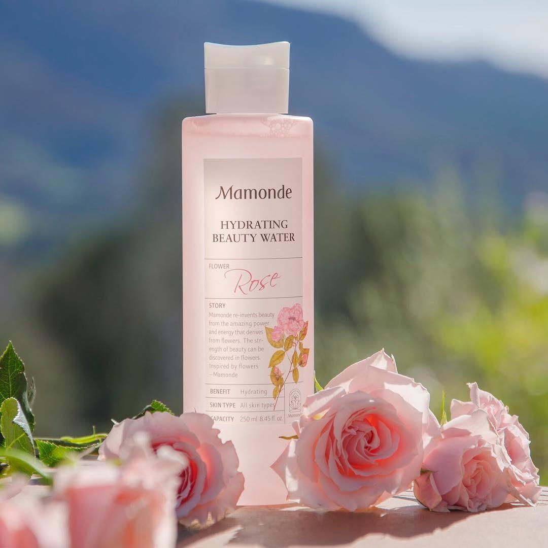 Toner mamonde rose water