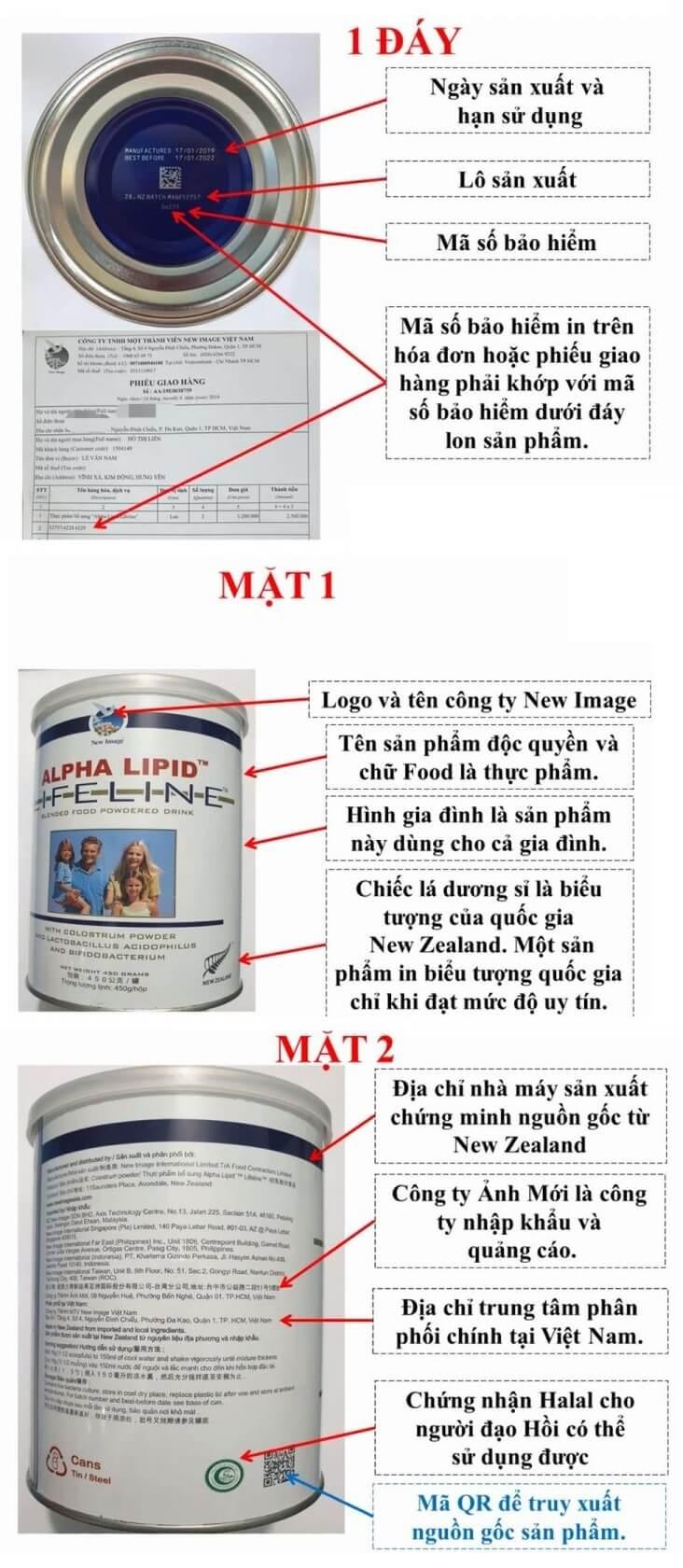 Cách phân biệt Alpha Lipid Lifeline thật giả